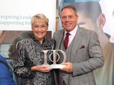 Double Award-Win for Jon at 2019 IoD East of England Awards Ceremony