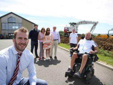 JMS joins forces with Davidsons Homes to support Matt Hampson Foundation