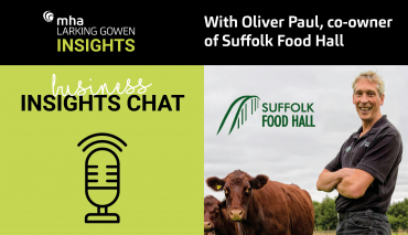 Business Insights Chat with Oliver Paul, co-owner of Suffolk Food Hall