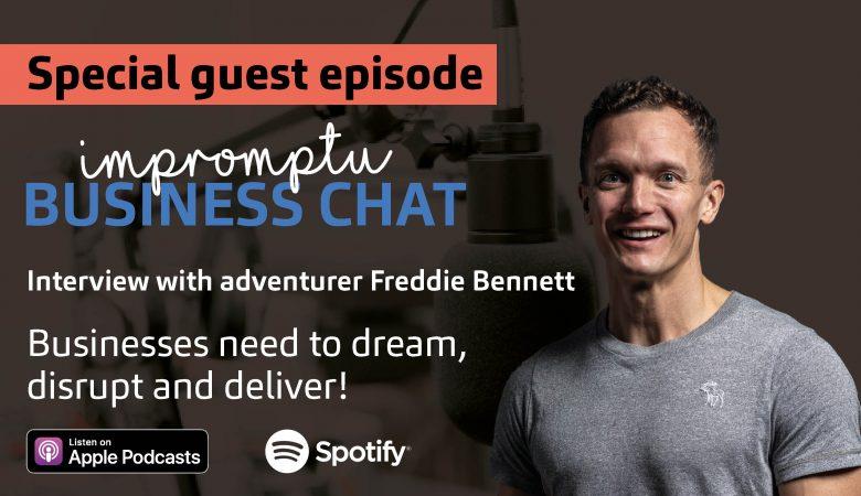 Impromptu Business Chat with Freddie Bennett