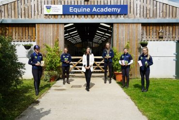 Essex law firm continues random acts of kindness with Writtle University College Equine Academy