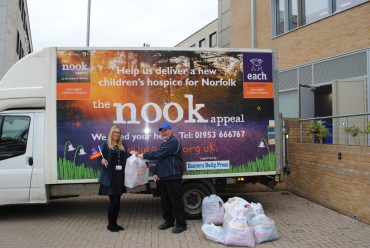 More than 60 Birketts' bags heading to EACH charity shop shelves