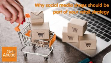 Bringing together online shopping and online media