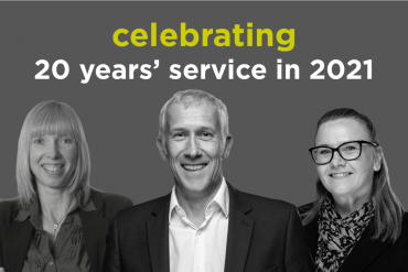 Essex law firm staff celebrate 20 years' service