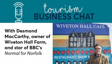 Tourism Business Chat with Desmond MacCarthy from Wiveton Hall Farm