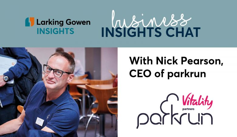 Business Insights Chat with Nick Pearson, CEO of Parkrun